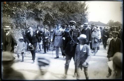 Monument aux morts 1914-1918 - Dépôt des gerbes - Général