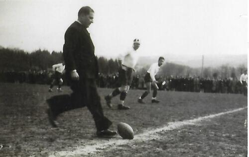 Match de rugby - La Belle - (1947-48)