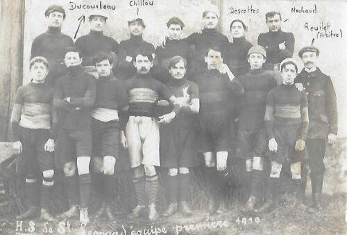 Équipe de rugby - Équipe 1ère - (1910)