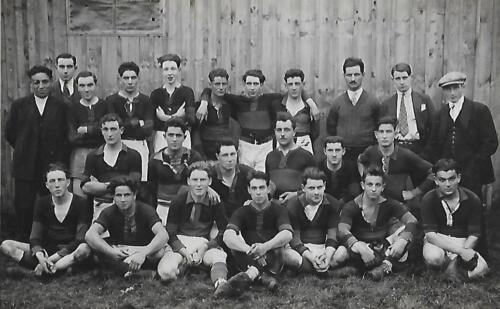 Équipe de rugby hirondelle 1ère  - (1910)
