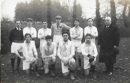 Équipe de foot - EPS Garçons (1936-37)
