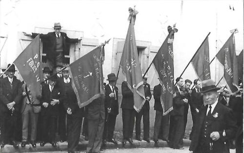 Inauguration Pressemane - Les drapeaux
