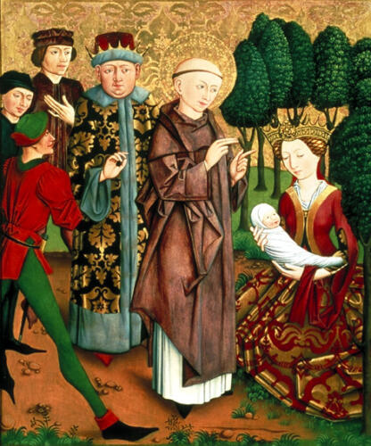 1450-1460, Église Bad Aussee, Autriche.