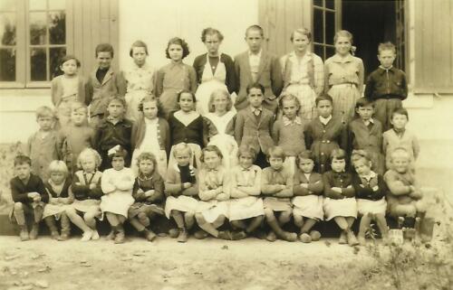 Groupe école de Lajoumard (1953-1954)