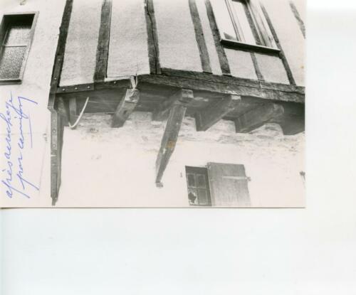 Rue des Étages - Maison après accrochage par camion