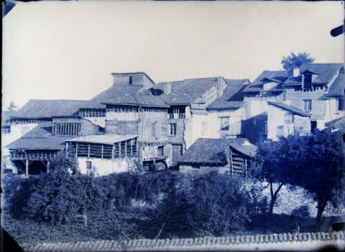 Tanneries au faubourg Blancheraud