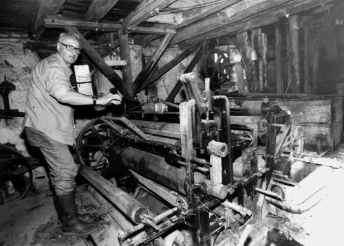 Papeterie du Moulin du Gôt avant restauration - M. Authier