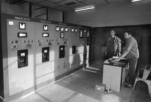 Usine électrique - Poste de commande (08.11.1994)
