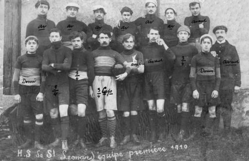 SPO - Hirondelle Sportive EPS - Équipe 1 - (1910)