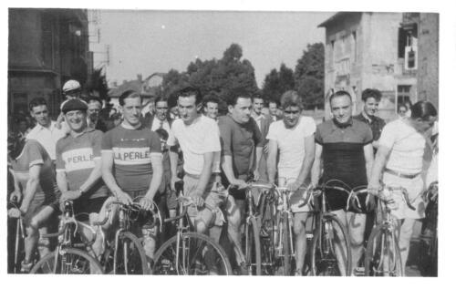 SPO - Cyclisme - Groupe d'arrivée