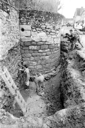 Enceinte médiévale - Boulevard Carnot (13.02.1996)