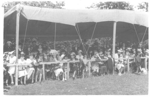 Concours hippique - Le public