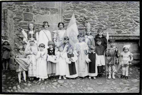 Fête Jeanne d'Arc- Enfants costumés