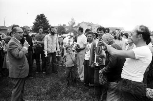 Fête des montgolfières - (17-18.07.1976) - Remise des Prix