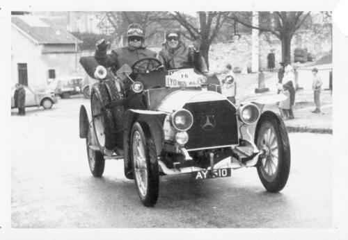 Rallye autos anciennes Lyon-Le Mans