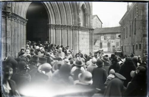 Sortie de Mgr Flocard - Évêque de Limoges