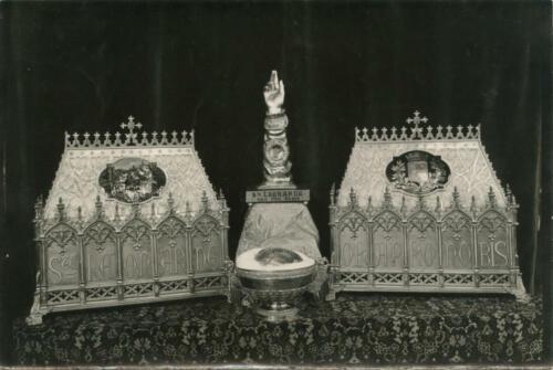 Ostensions, reliquaires saint Léonard