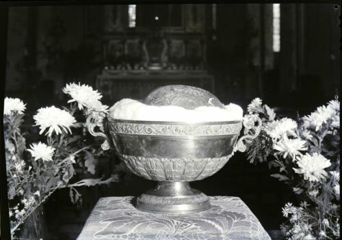 Ostensions - Coupe reliquaire chef saint Léonard