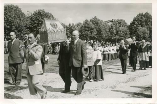 Procession des reliques