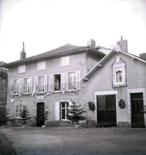 Maison pavoisée
