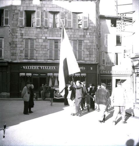 Procession du drapeau