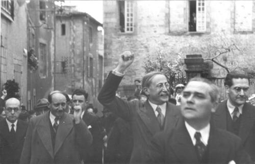 Visite de Léon Blum (16.05.1937)