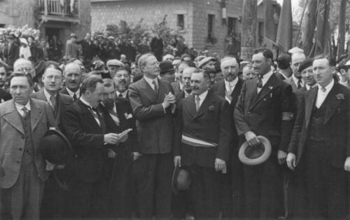 Léon Blum avec Valadas