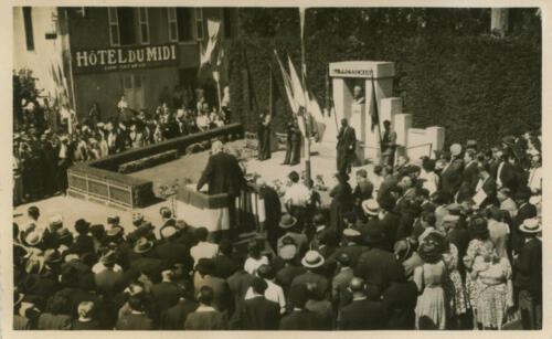 Inauguration Pressemane