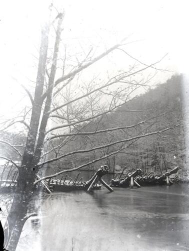 Ramier - Flottage du bois - Non situé