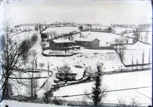 Le Garniment sous la neige