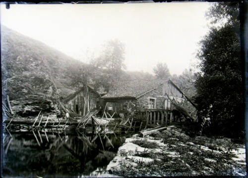Moulin - barrage non situé