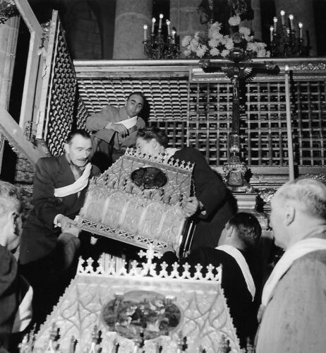 Les châsses sorties par Daigueperse et Rigout (Quintaine de 1951)