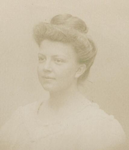 Portrait de Marie-Louise Colas (1910)