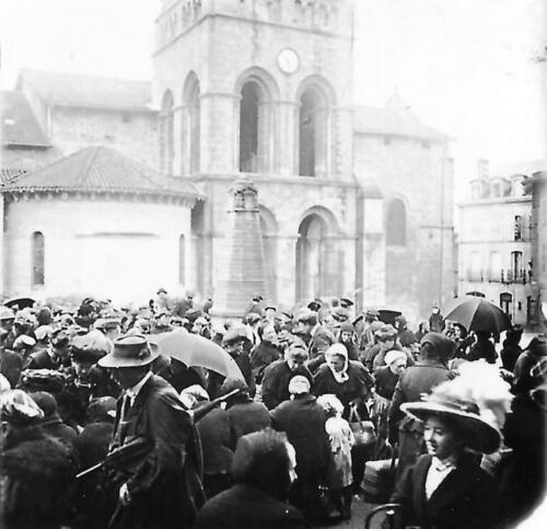 Le marché place Gay-Lussac (1910)