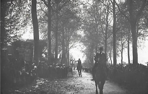 La Quintaine - Deux cavaliers