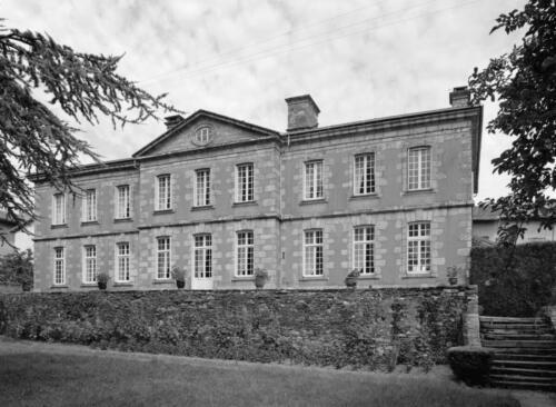 Hôtel de Rigoulène, façade sur jardin