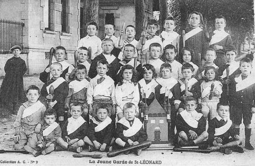 La jeune garde de Saint-Léonard