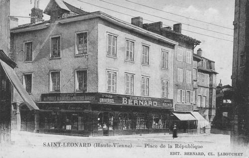 Établissements Bernard - Place de la République