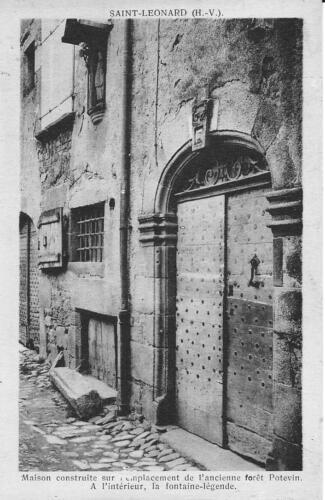 Rue de St-Léonard