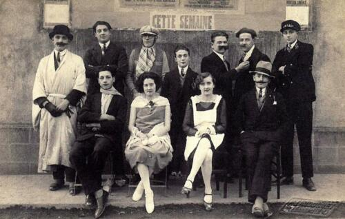 Bal costumé EPS et Sport (1929)