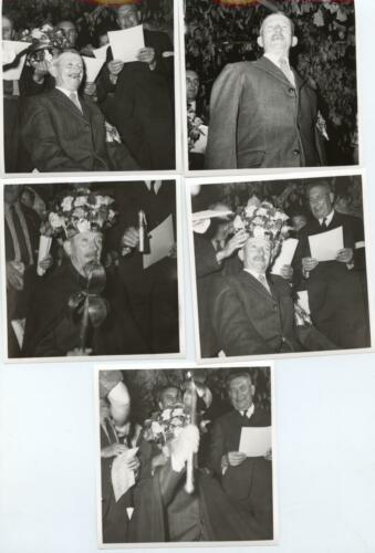 Fête de la Saint-Martiale au Pont de Noblat, couronnement du roi, (5 juillet 1969)