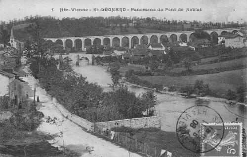 Panorama au pont
