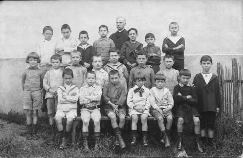École libre - Garçons - Henry Constant - (1920)