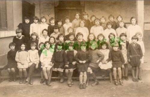 École des Filles - Classe de 6ème (1933)