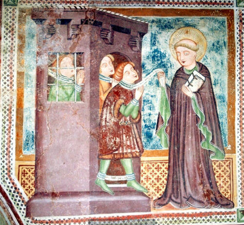 1400, Église de Breg pri Preddvoru, Slovénie.