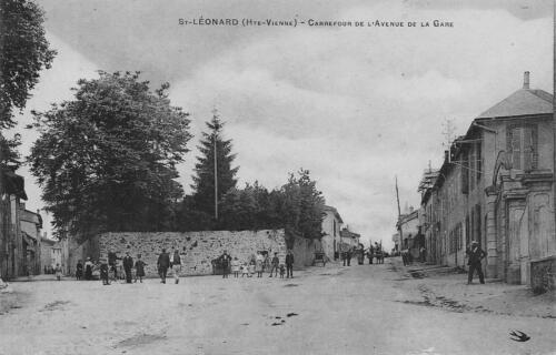 Carrefour avenue de la Gare