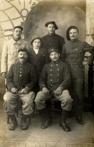 Hôpital - 6 équipiers - Dr Duchaine (1915.08.08)