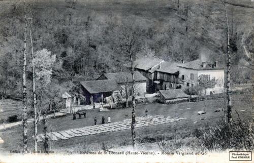 Moulin Vergnaud, au Gô, papier paille