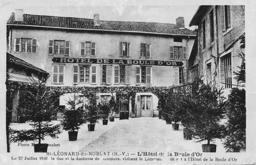 L'hôtel de la Boule d'Or
