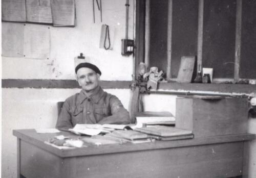 P. Medda - Chef de laboratoire (1940-50)